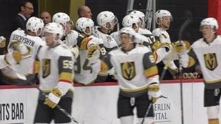 Golden Edge: Golden Knights Rookies Faceoff Against The Sharks Good