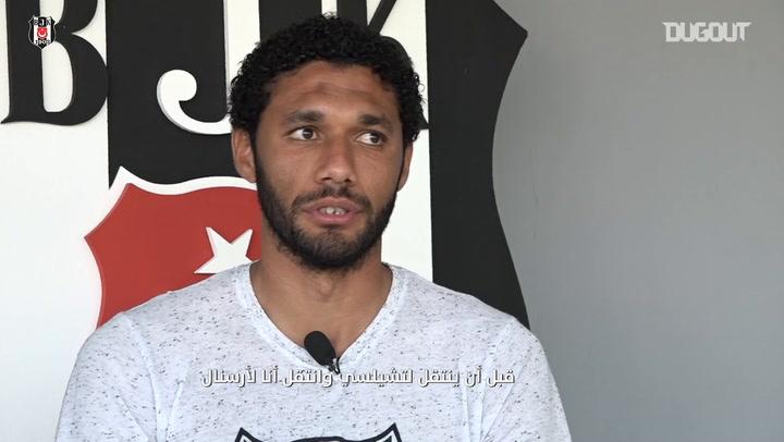 محمد النني يتحدث عن علاقته بمحمد صلاح