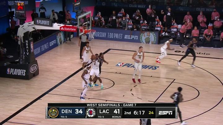 Las 5 mejores jugadas de la jornada de la NBA el 15 de septiembre de 2020