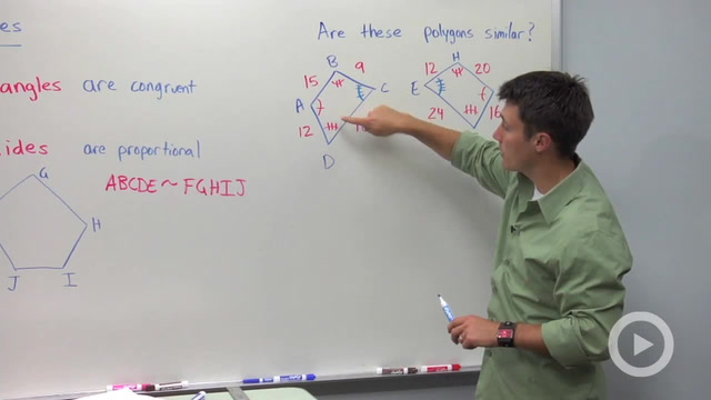 Properties of Similar Polygons - Problem 1