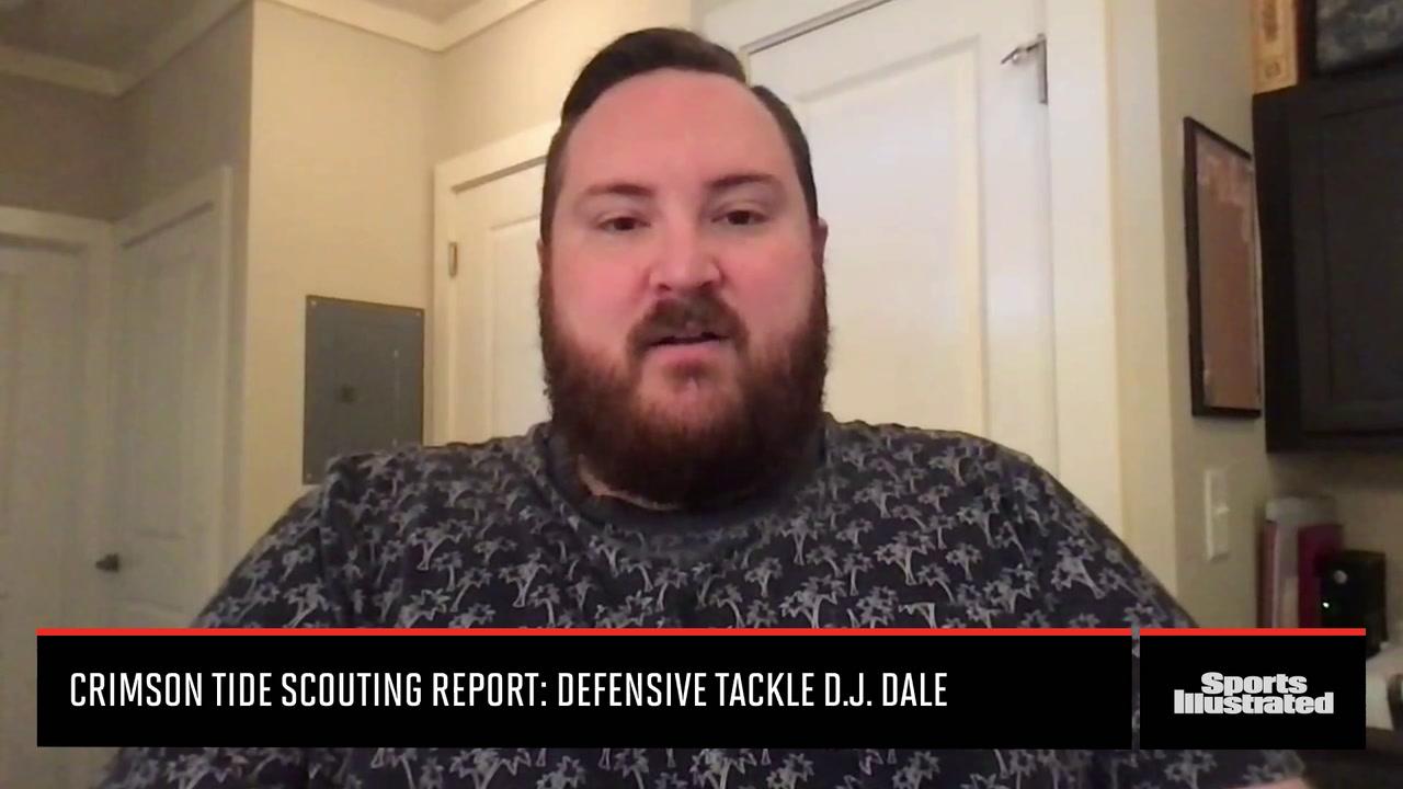 Crimson Tide Scouting Report: Defensive Tackle D.J. Dale Video