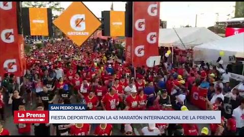 Fiesta deportiva con la 43 Maratón Internacional de LA PRENSA