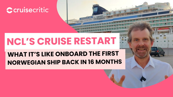 NCL restart: what it looks like on Norway's first cruise ship in 16 months
