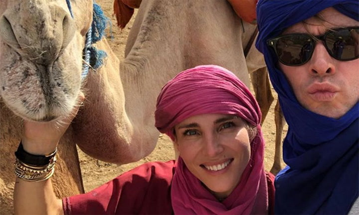 Baños árabes y paseos en camello: las vacaciones marroquíes de Chris Hemsworth y Elsa Pataky con sus hijos