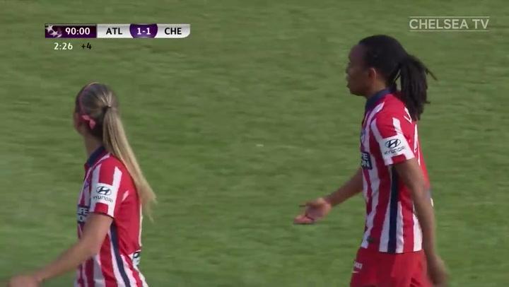 Resumen del Atlético Madrid - Chelsea de la Women's Champions League