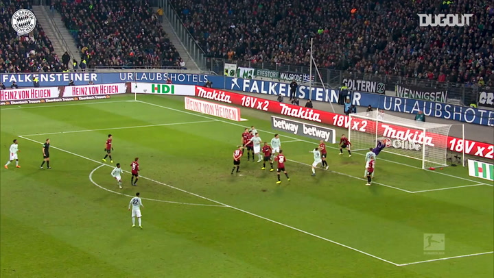 Incredible Goals: David Alaba Vs. Hannover