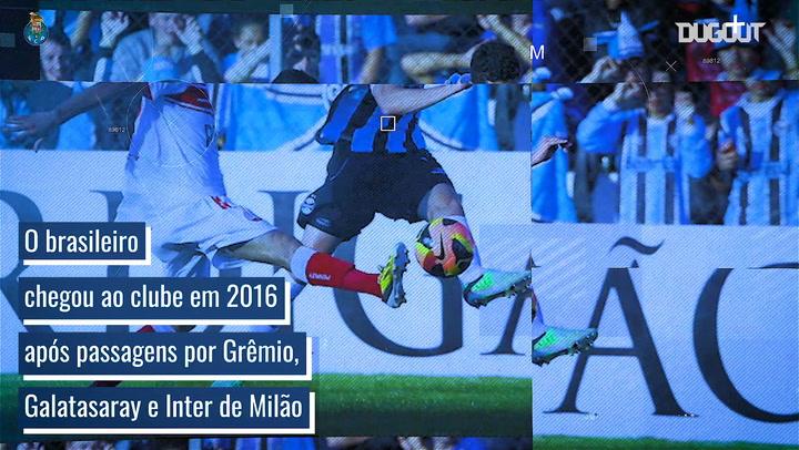 A incrível trajetória de Alex Telles no FC Porto