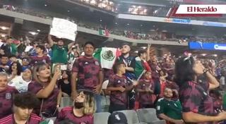 ¡Así inició el duelo futbolístico entre Honduras y México!