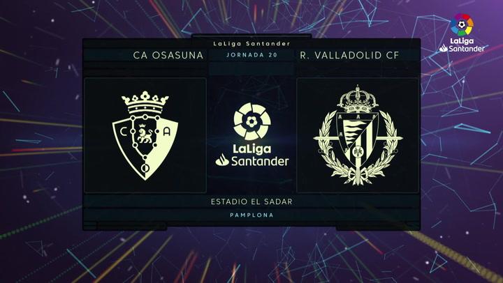 LaLiga SmartBank (J24): Resumen del Osasuna 0-0 Valladolid