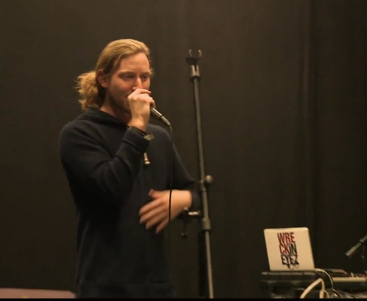 """Asher Roth on Playing """"Retro Hash"""" Album in Its Entirety - SXSW 2014"""