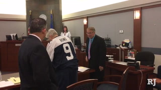 Man convicted in double-murder case explains why he wore a Cowboys jersey to court