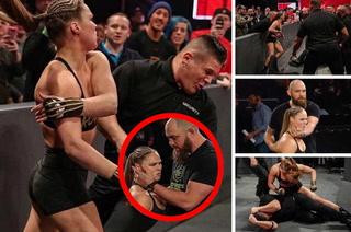 Así fue la paliza que les propinó Ronda Rousey a los guardias de seguridad de WWE