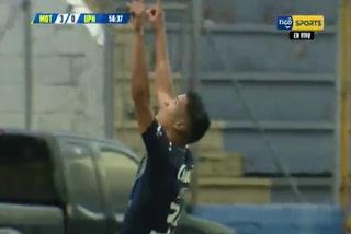 Kevin López le marca un golazo a la UPNFM y aumenta la diferencia a favor de Motagua