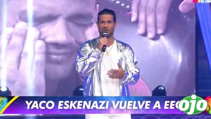"""""""Esto es guerra"""": Yaco Eskenazi regresa al reality tras varios años │VIDEO"""