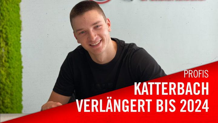 Noah Katterbach verlängert bis 2024