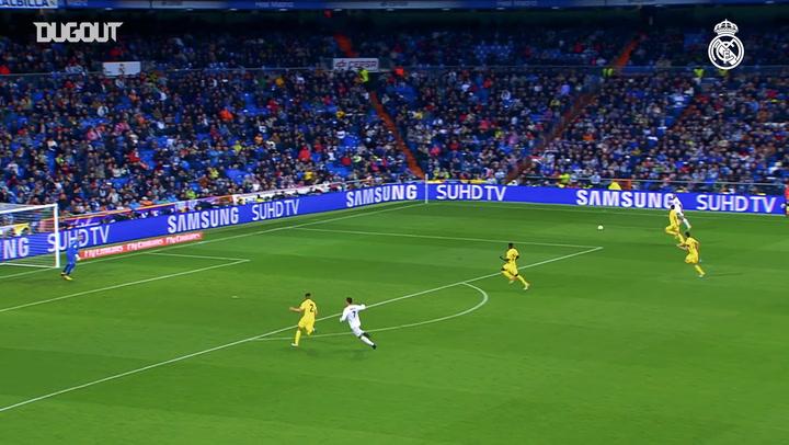 Modric's goals vs Villarreal