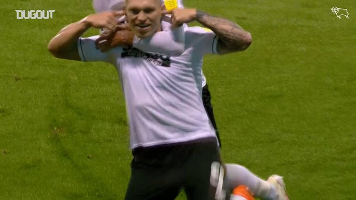Waghorn's unstoppable free-kick vs Nottingham Forest