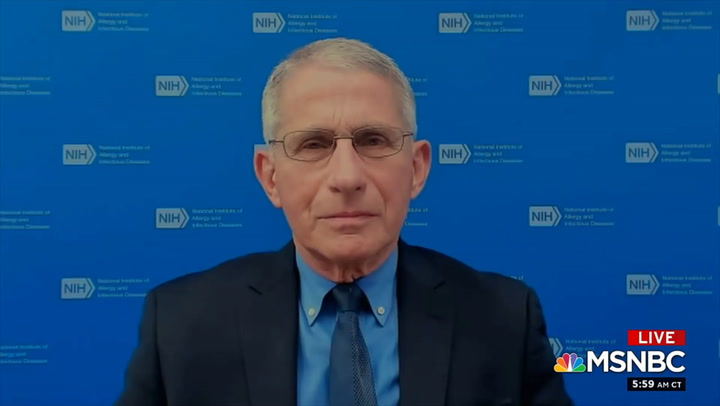 Fauci: Schools Have Opened with Low Transmission, But 'Still Things We Can Do to Make It Even Safer'