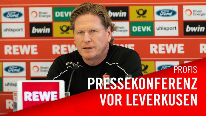 Pressekonferenz vor Leverkusen