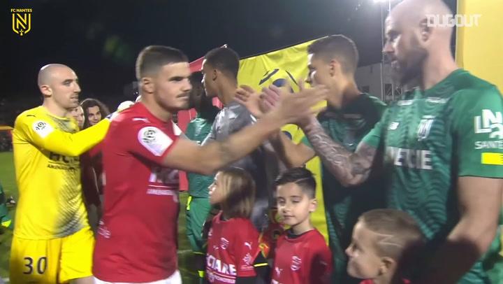 FC Nantes narrowly defeat Nîmes Olympique