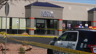 Police update on shooting at Las Vegas credit union – VIDEO