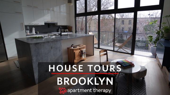 house tour a modern light filled brooklyn renovation apartment