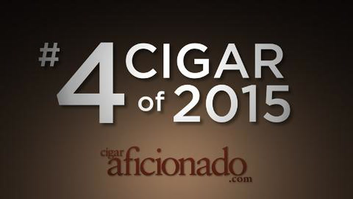 No. 4 Cigar of 2015
