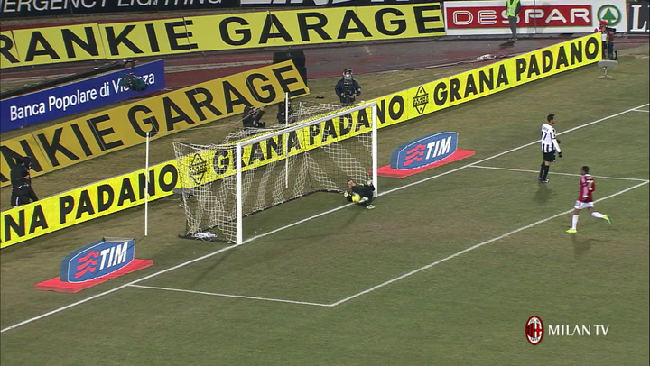 Udinese vs AC Milan: our top 5 goals