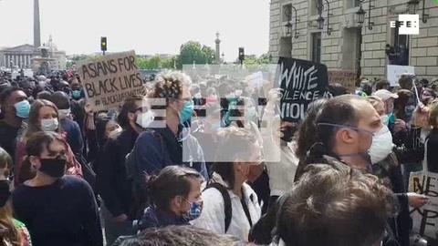 Capitales europeas se unen a las protestas contra el racismo