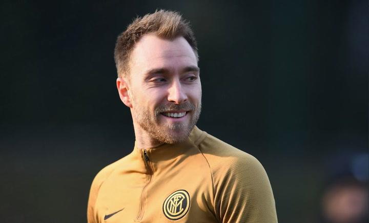 Eriksen nuevo jugador del Inter