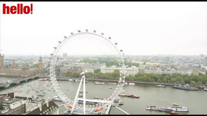 Relive the Thames Pageant as the boats pass by the London Eye
