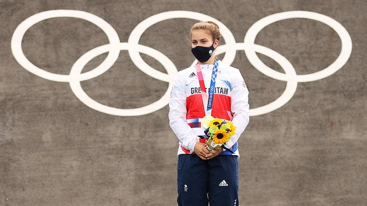 Team GB's Beth Shriever hopes gold medal inspires generations of BMX riders
