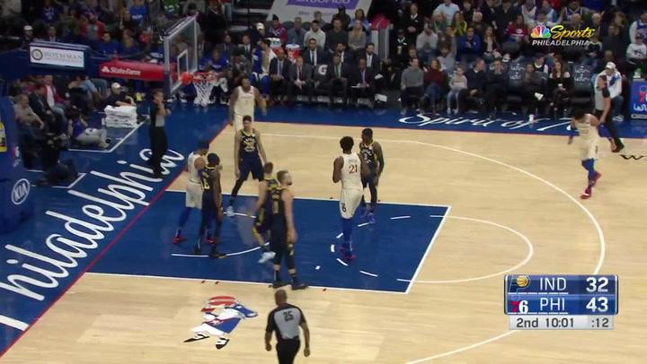 La canasta de Richaun Holmes entre las top 5 de la jornada de la NBA