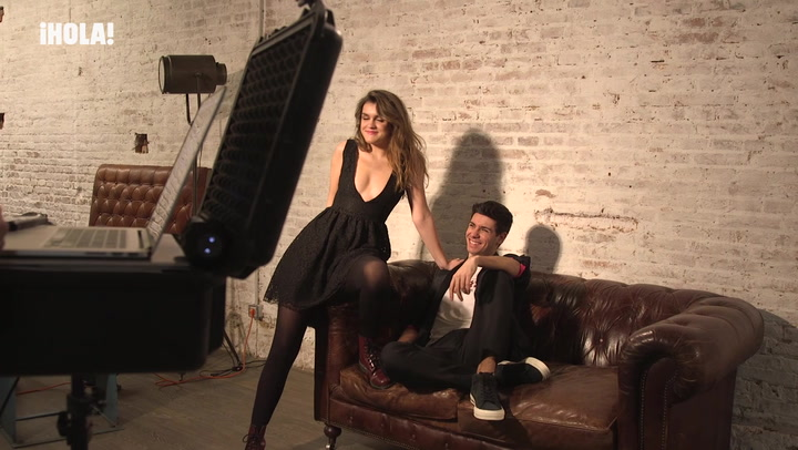 ¡Saltan chispas! Alfred y Amaia demuestran su complicidad ante las cámaras de ¡HOLA!