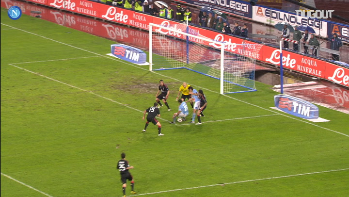 Napoli's best home goals vs AC Milan