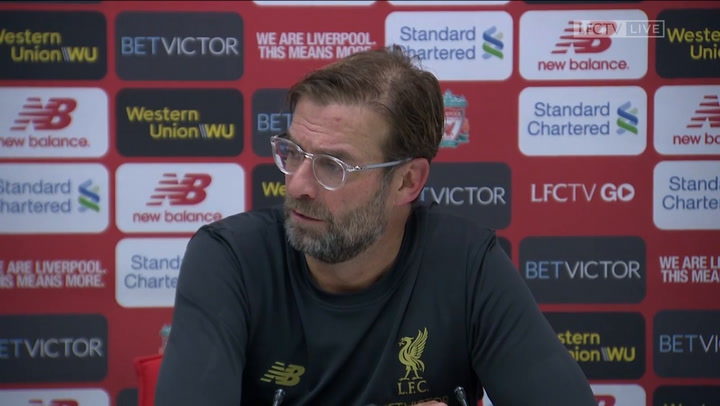Klopp: These 'Clasico' matches are why you sign