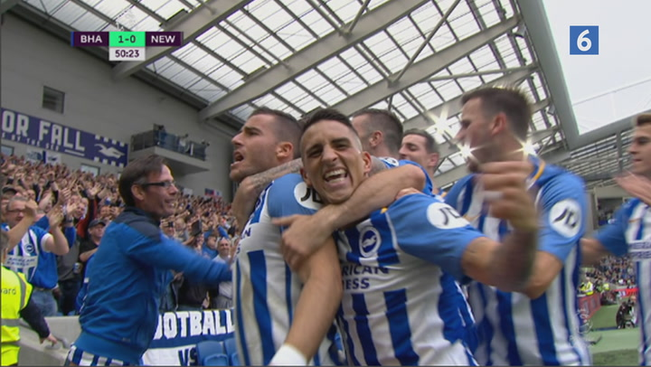 Highlights: Brighton tager tre vigtige point mod Newcastle