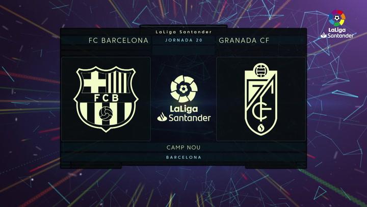 LaLiga (J20): Resumen y gol del Barcelona 1-0 Granada