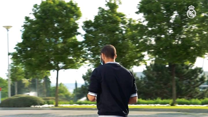 Real Madrid undergo tests ahead of training return