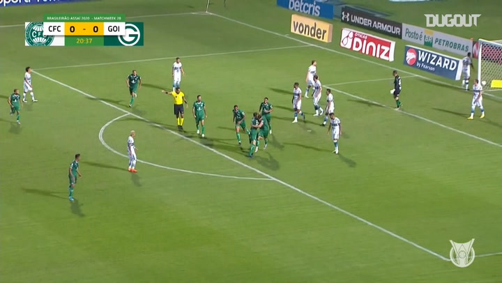 Highlights Brasileirão: Coritiba 1-2 Goiás
