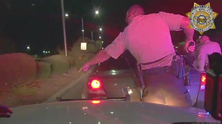 Nye County Deputy's Chase Down a Reported Stolen Vehicle – Video
