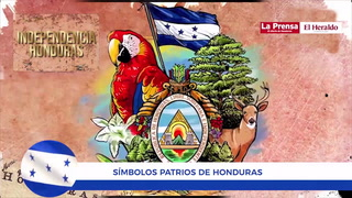 Bicentenario: Símbolos patrios de Honduras