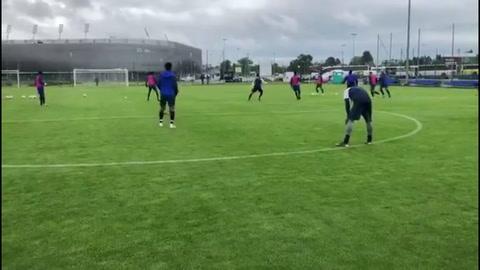 Video: Sub-20 de Honduras reconoció estadio mundialista de Lublin