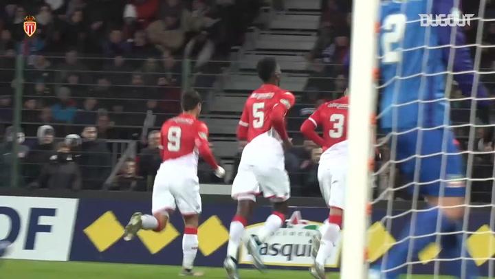 AS Monaco cruise to victory over Saint-Pryvé Saint-Hilaire