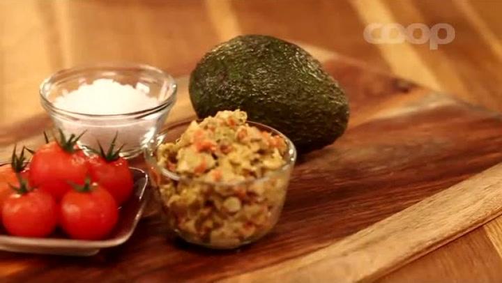 Hvordan lage krabbecocktail med avocado