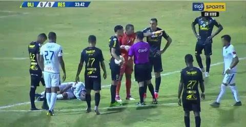 Panameño Ronaldo Dinolis anota su primer gol en Honduras