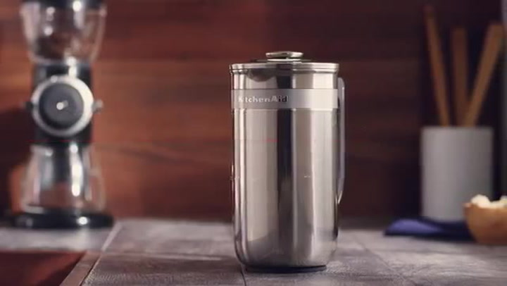 Preview image of Kitchenaid Precision Press French Press Brewing video