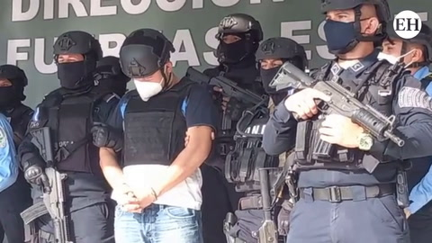 Presentan al hondureño Martín Adolfo Díaz Contreras pedido en extradición por EE.UU