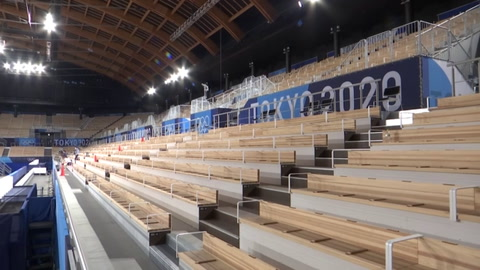 Sin alcohol ni vítores, los espectadores de los Juegos de Tokio se quedan sin fiesta