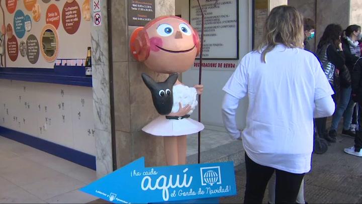 Reus (Tarragona) distribuye parte de El Gordo